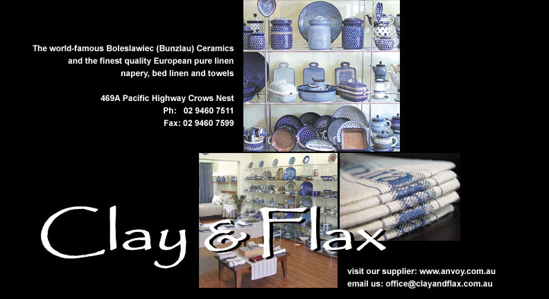 Clay and Flax